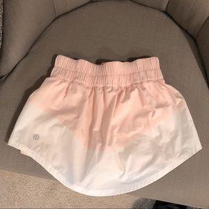 Lululemon Tennis/Running Skirt. Fits small